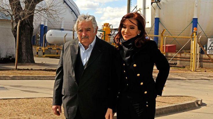 Cristina Kirchner and Mujica