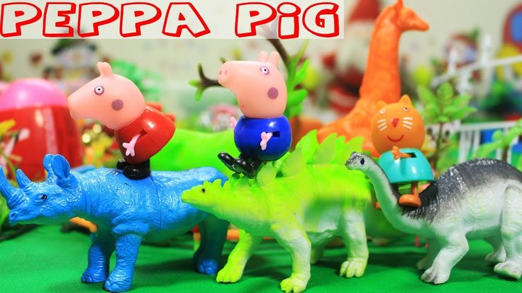[Toy City] Peppa Pig Toys Episodes Full English Compilation Peppa and Ge...