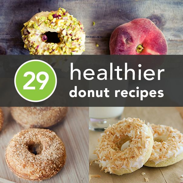 Happy National Donut Day! Here are 29 Healthier Donut Recipes from some of our favorite blogs!