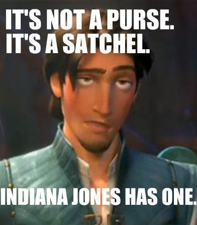 It's a satchel.
