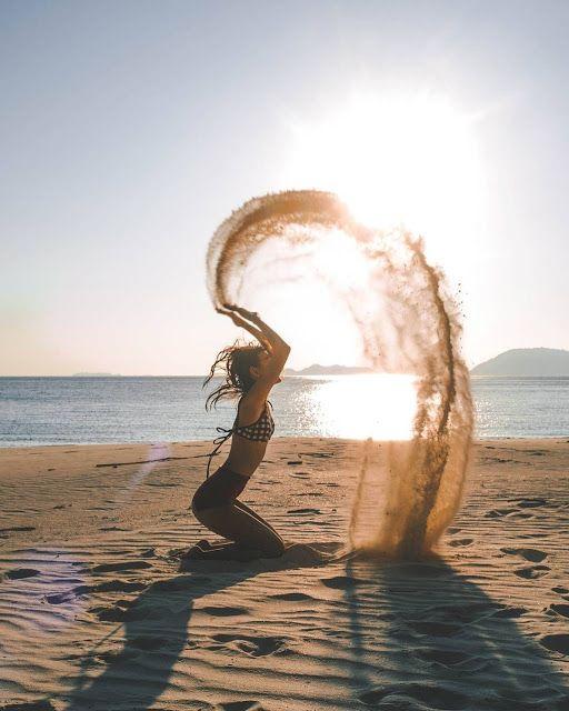 10 Ideias de fotos na Praia para fazer nesse verão