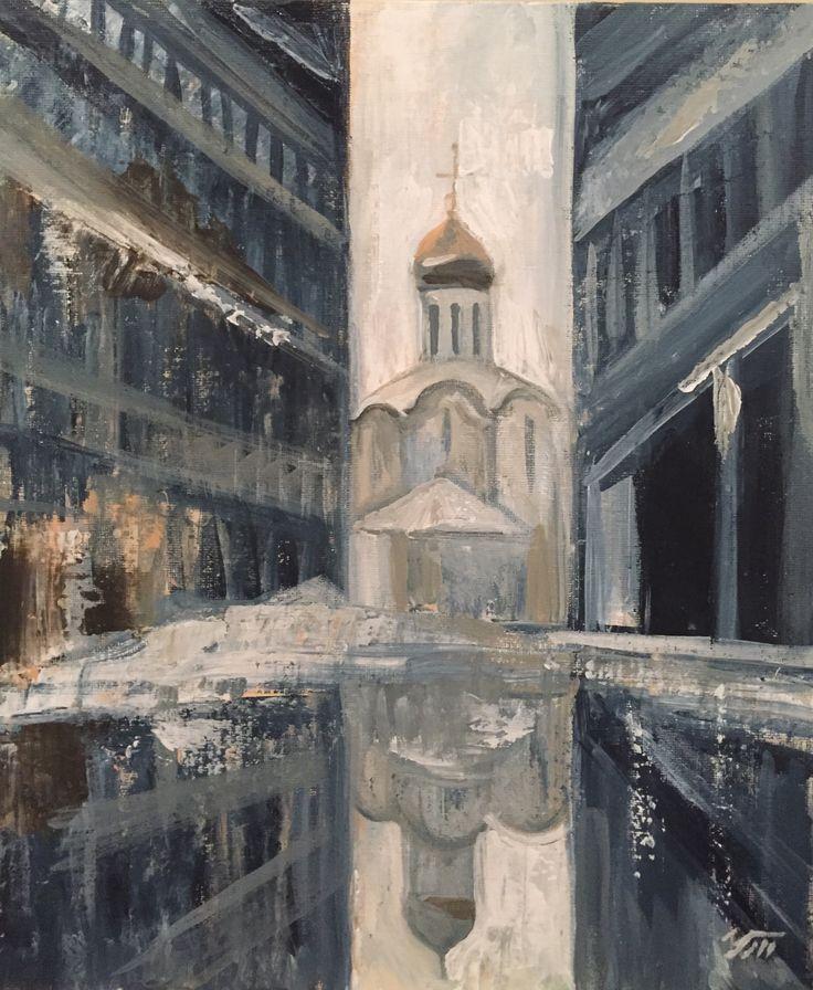церковь у метро Белорусская