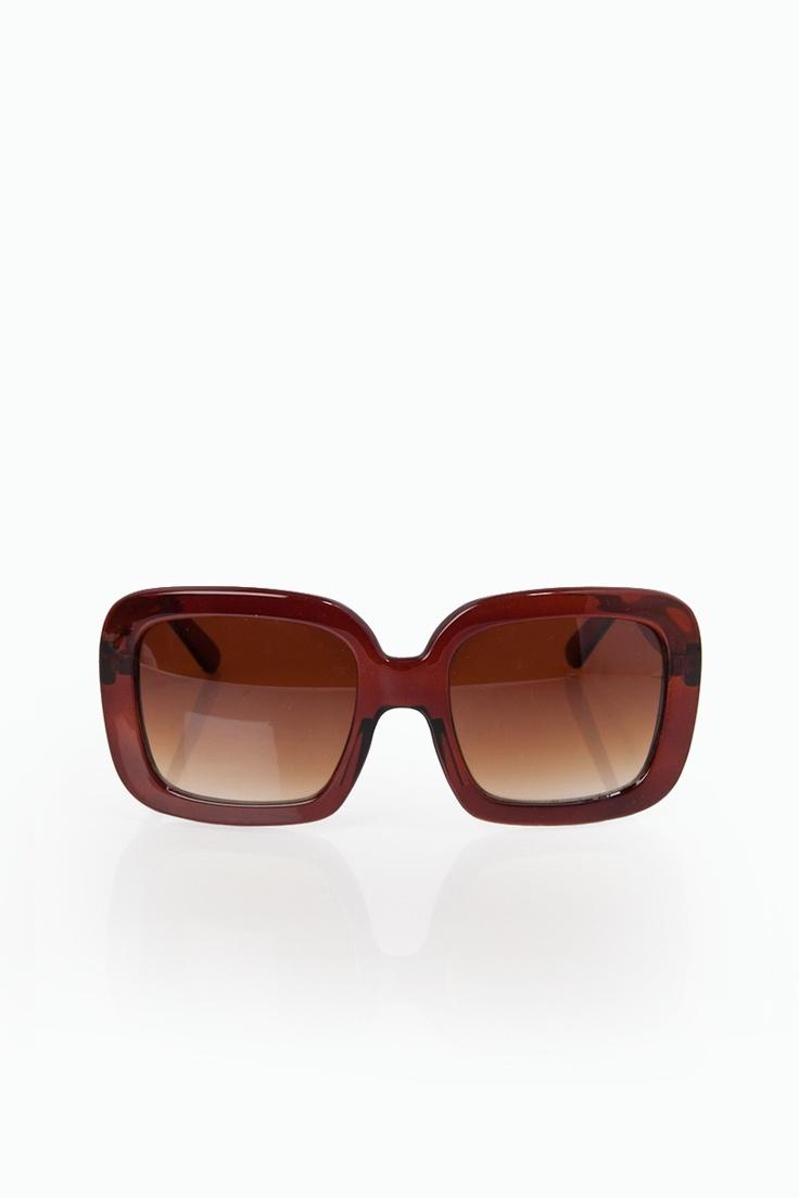 ShopSosie Style : Oversized Uptown Sunglasses in Java