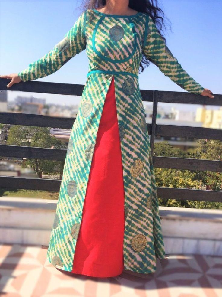 Achkan Double Dress