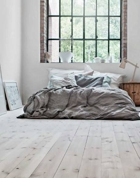 Very clear bedroom space