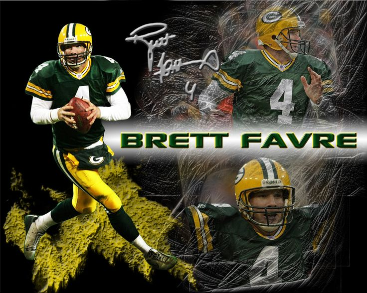 BRETT FAVRE. My favorite football player ever.