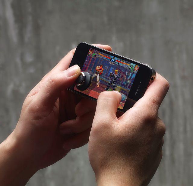 Brick Joystick for Smartphone Gaming
