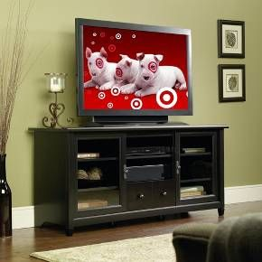 "TV Stand Estate Black 59"" - Sauder : Target"