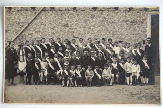 Foto di Classe 1930 fotografia italiana vintage classe di