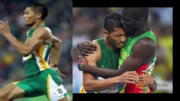 Wayde Van Niekerk wins men's 400 metres in world record 43 03