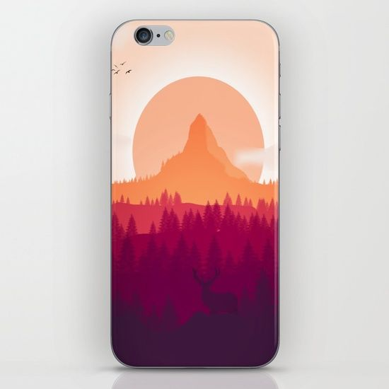 Can You See Deer In THe Art iPhone & iPod Skin