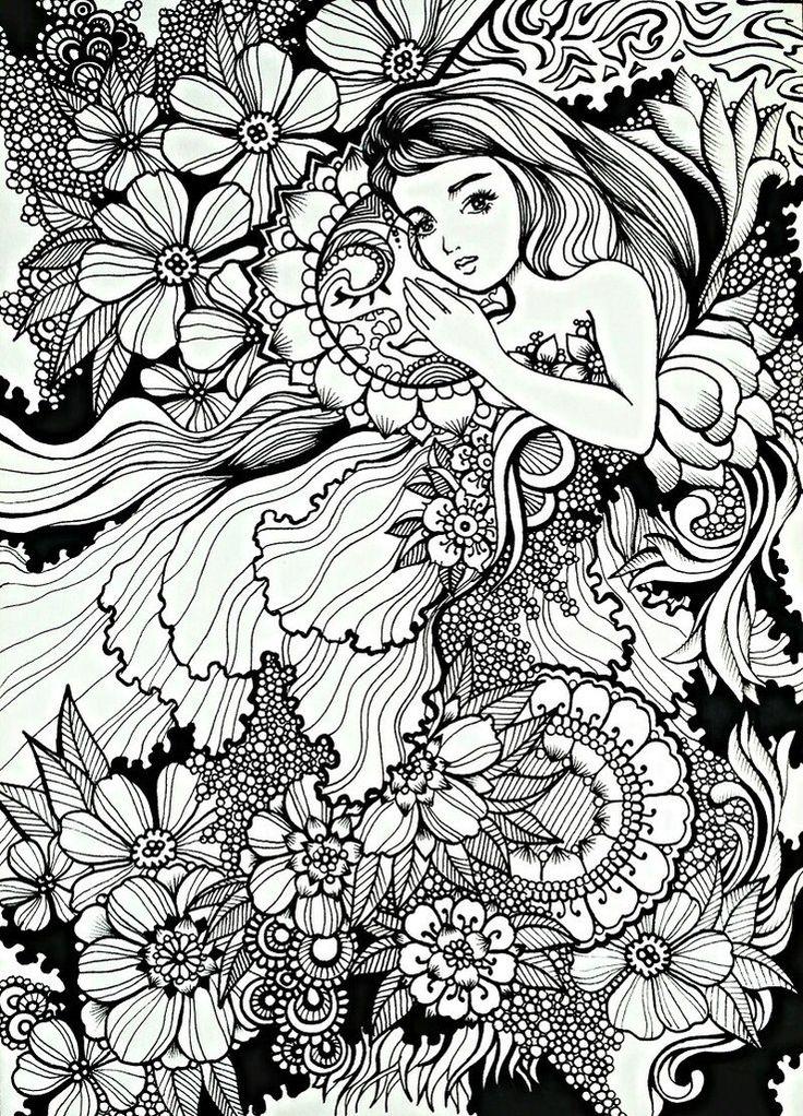 Coloring book drawings