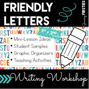 Friendly Letter Writing Workshop Unit: Writing friendly letters is a valuable life skill and a whole lot of fun! In this unit, writers learn about letter writing format, but also to write with intention, thinking about the purpose of their piece and also their audience, choosing their details in consideration of their purpose and audience.