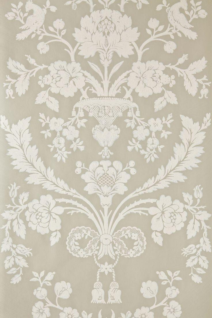 St Antoine BP 909 | Wallpaper Patterns | Farrow & Ball | Off white interiors | Pinterest ...