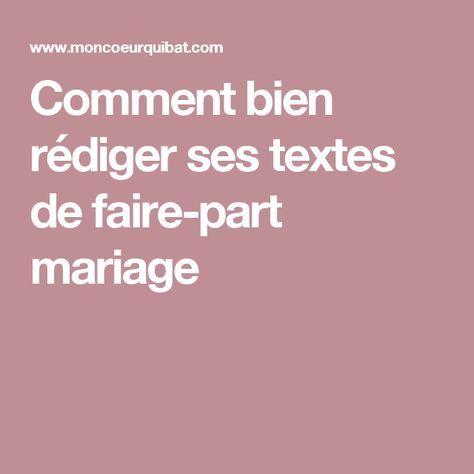 1000 id es propos de texte faire part mariage sur pinterest mot de remerciement livre d 39 or. Black Bedroom Furniture Sets. Home Design Ideas