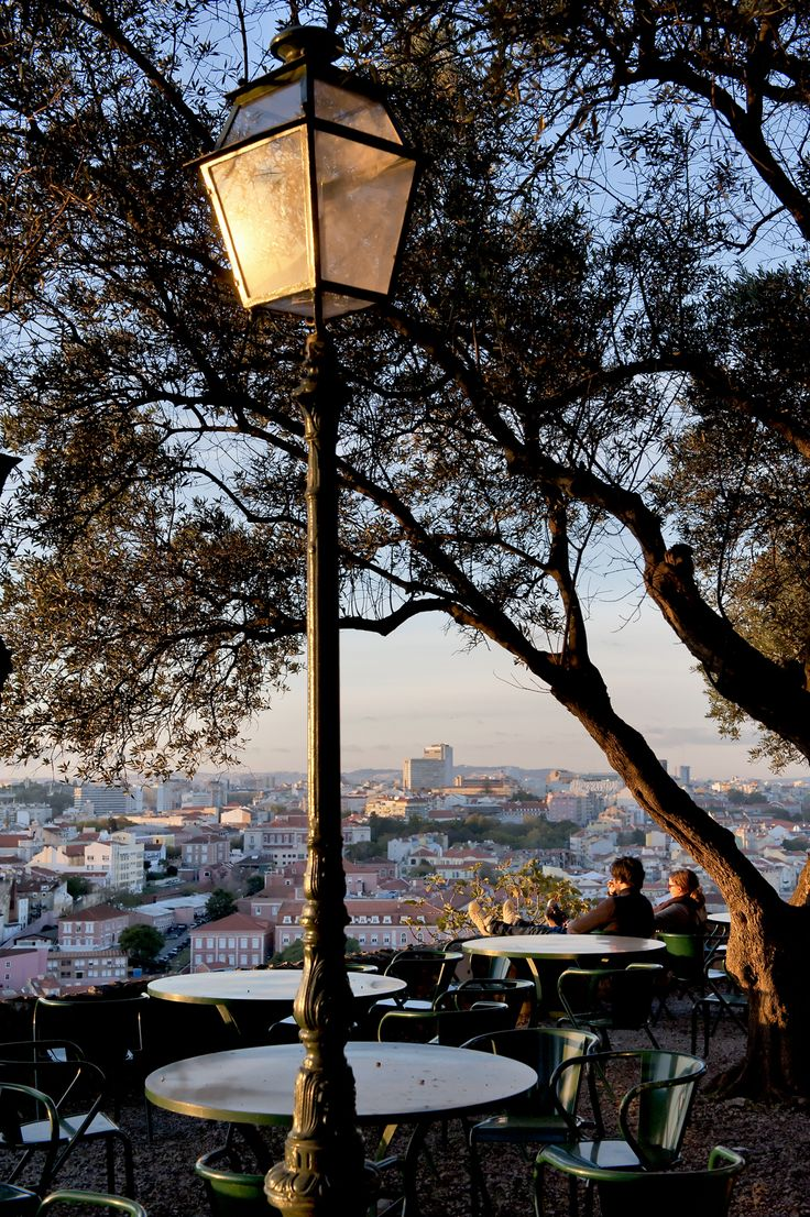 Lisbon seen from its Castle | #Lisbon #Portugal