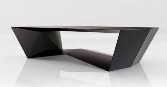 Cool Ultra-Modern Dining and Low Tables by Rlos Design