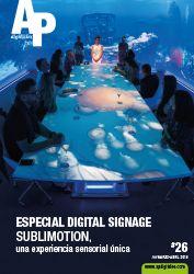 APdigitales #26 con la impresionante experiencia sensorial que nos ofrece Sublimotion desde Ibiza en el Especial Digital Signage. Puedes verla en www.apdigitales.com