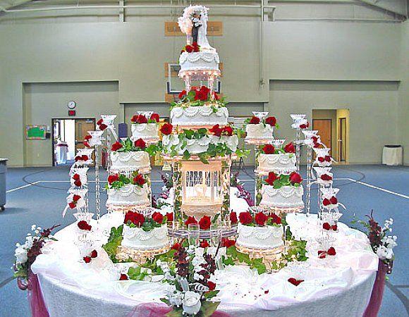 Fountain Wedding Cakes Pinterest