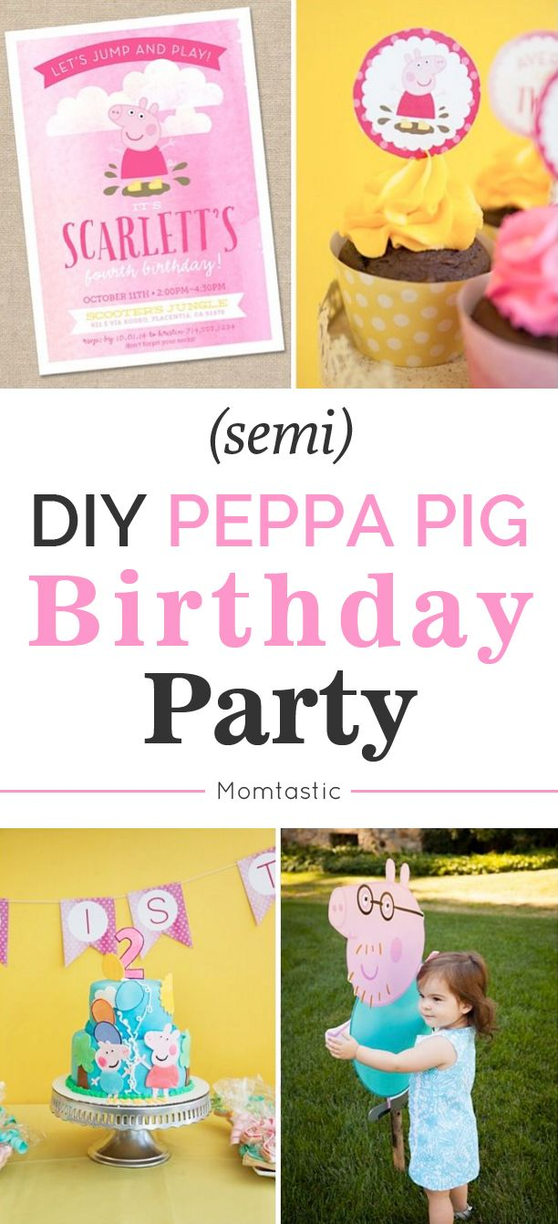 Despite Peppa Pig's popularity with the toddler set, there are very limited Peppa Pig themed party goods in the States. Here's how I threw a fun Peppa Pig party without any access to pre-made Peppa Pig party supplies.