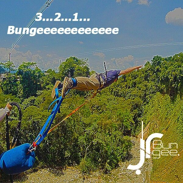 Bungee Jumping Colombia www.JRBUNGEE.com