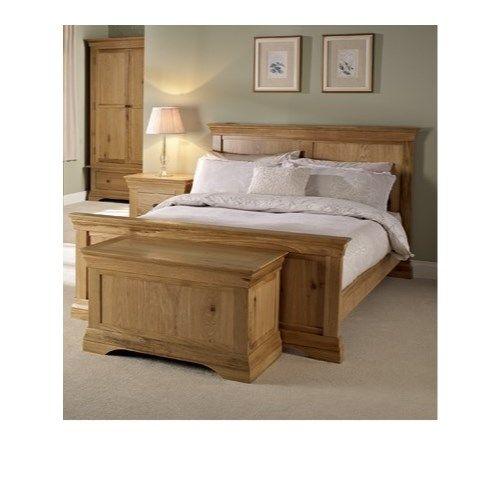 LPD - Worthing White Oak Bed Frame - Kingsize