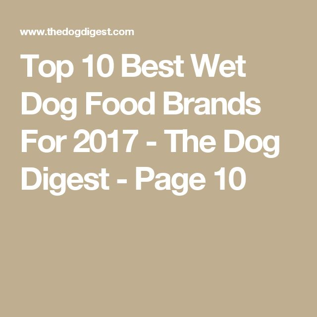Top 10 Best Wet Dog Food Brands For 2017 - The Dog Digest - Page 10