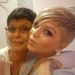 punk pixie ♥ more at http://www.pinkous.com/beauty/greatest-short-punk-haircuts.html
