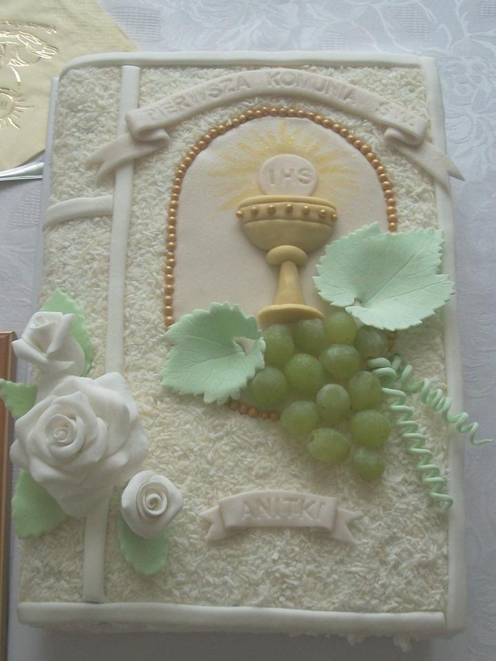 pastel para primera comunión3