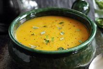 This deliciously smooth soup is perfect for autumnal evenings or to fill a flask...