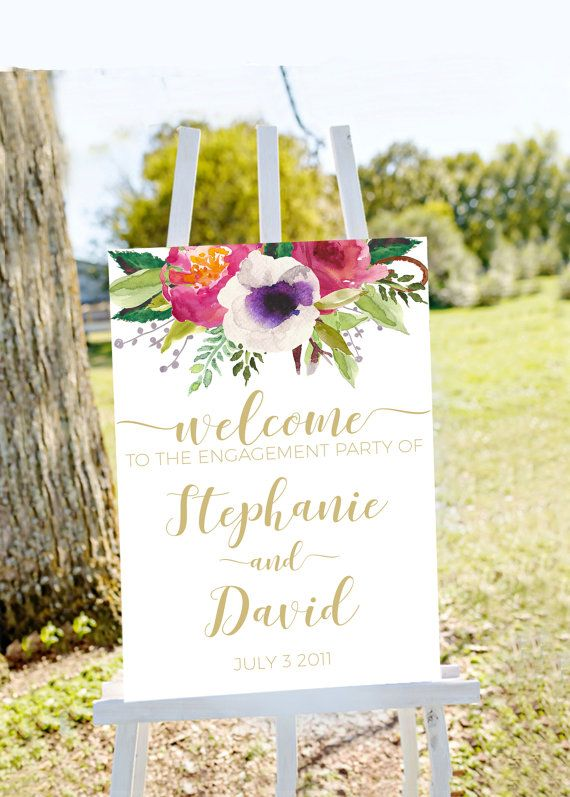 Engagement Party Signs & Banners