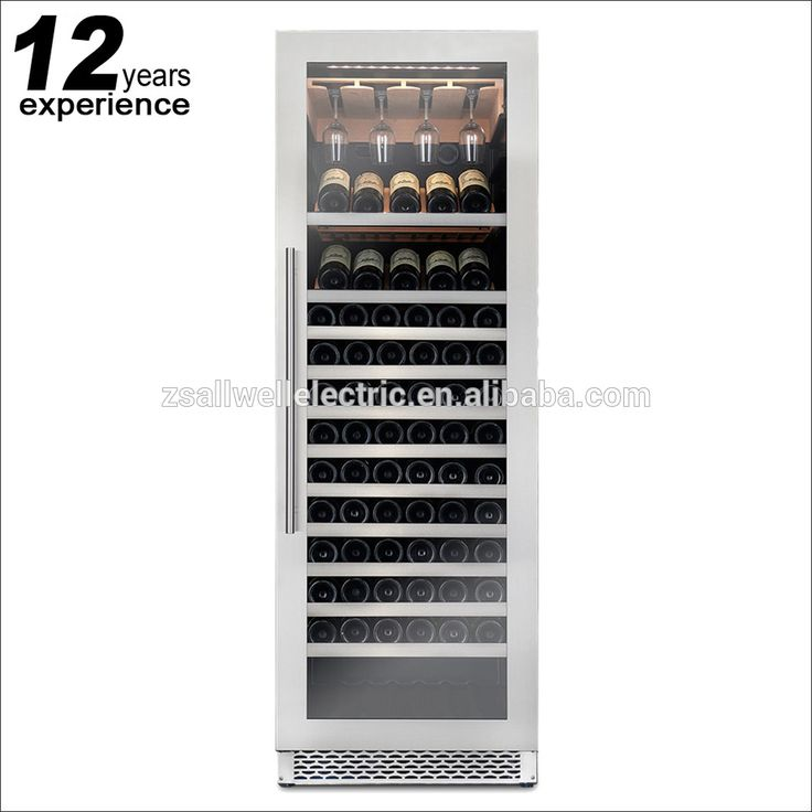 Ashibetter stainless steel glass door modern wine display cabinet for home