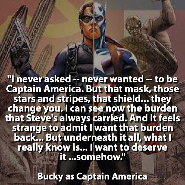 Bucky as Captain America  #HiveSurvives