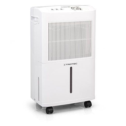 Trotec Déshumidificateur confort TTK 50 E: Déshumidificateur doté d'un hygrostat réglable Fonctionnement silencieux et grande facilité…