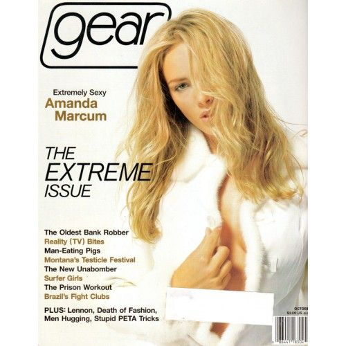 Gear Magazine | Amanda Marcum | Female Surfers | Xenia Siamas | Death of Fashion | October 2001