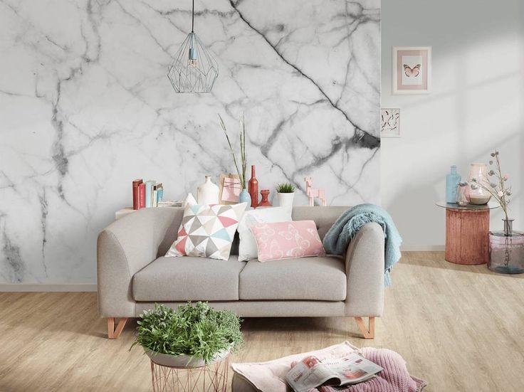 Die besten 25+ weisser Marmor Ideen auf Pinterest Marmor, Tapete - wanduhr design wohnzimmer