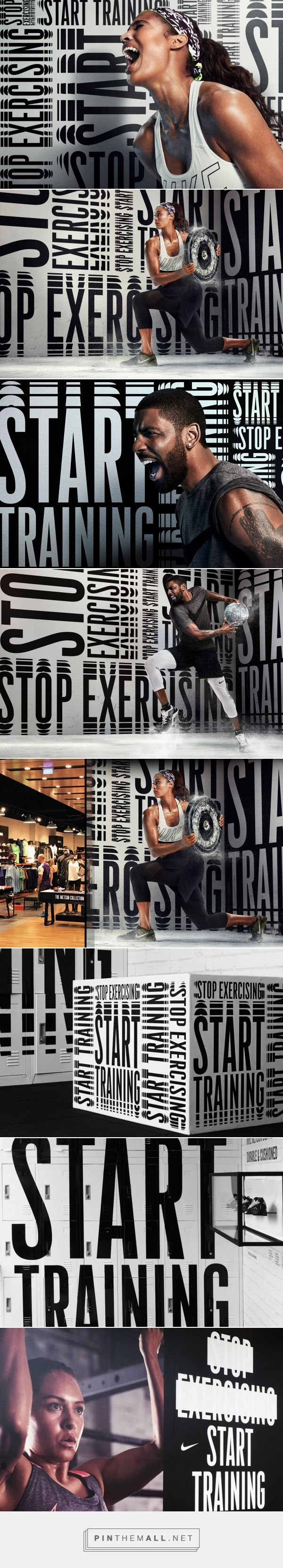 Stop Exercising - SouthSouthWest. #graphic #design #identity #branding #typography