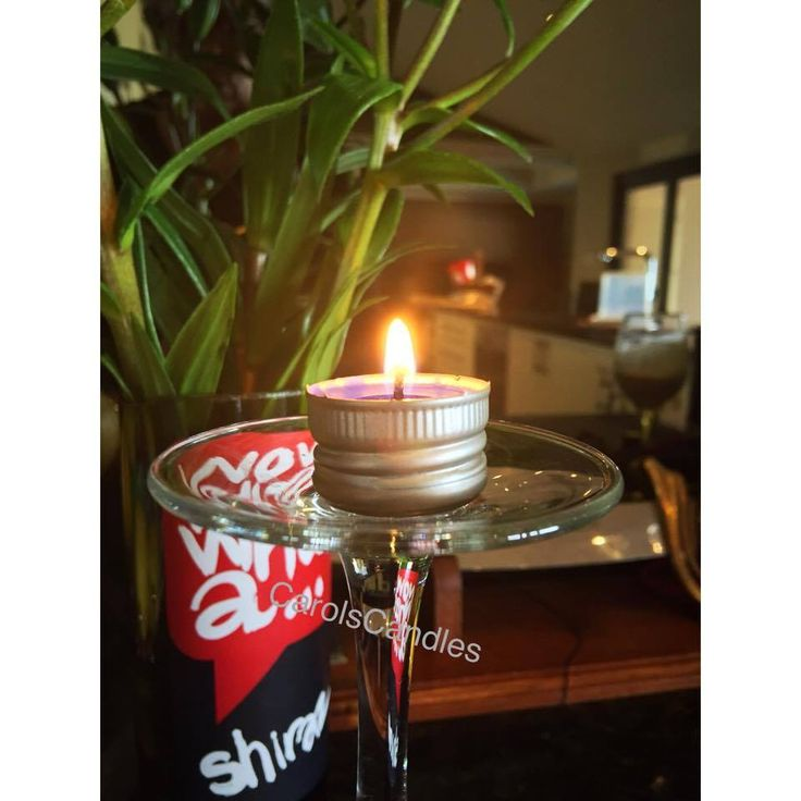 Screw Top Wine Lid Soy Wax Candles.  They actually bur for at least 2 hours! carolscandles2@gmail.com
