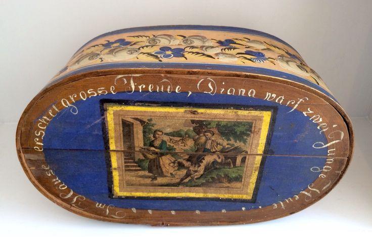 Spanen doos 19 e eeuw
