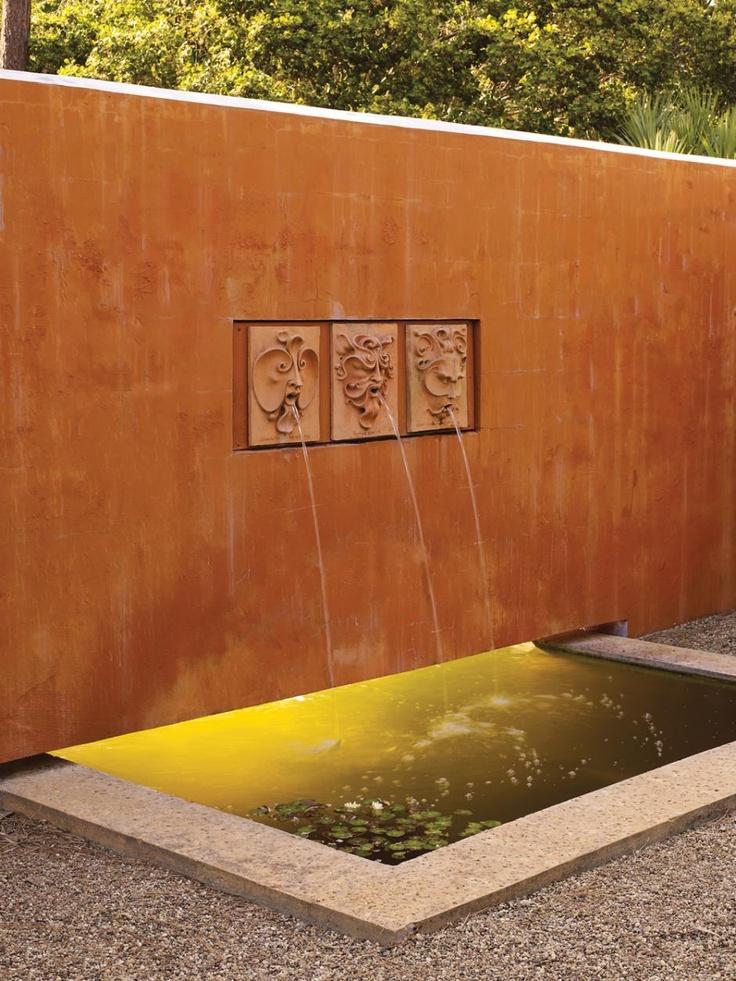 Fountain Heads I like the light behind the wall