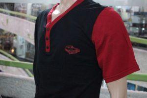 Pijama de hombre rojo de autos 4