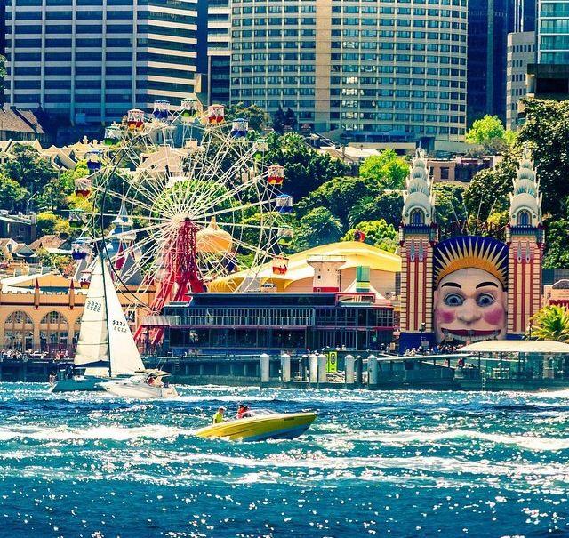 Beautiful Luna Park #Sydney #park #ferry