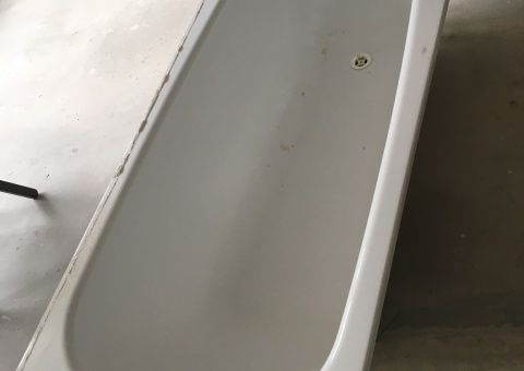 Donne Baignoire 160x70, blanche, bon état