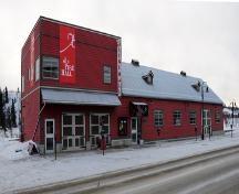 Old Firehall. Whitehorse, Yukon