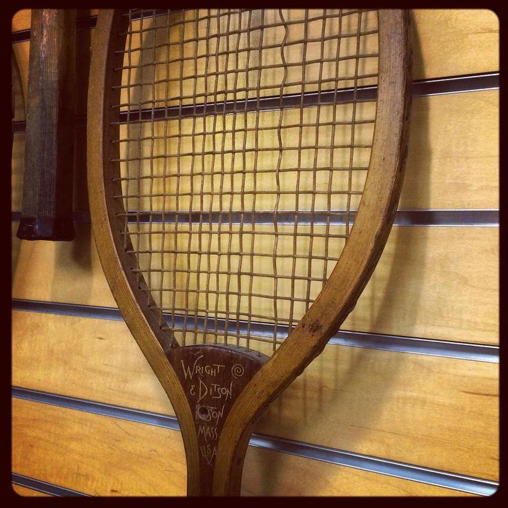 An old racquet glimpse for #swinginsaturday! #tennis #bocagrove #bocagrovegolfandtennisclub #bocagrovetennis #bocagroveplantation #bocaraton #countryclublifestyle #countryclub