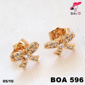 Jual Anting Korea Tusuk Gold Wanita Pita Permata Zircon OA 596 - Bellva ID | Tokopedia  Perhiasan Xuping Lapis Emas 18k, Awet dan Tahan Lama, pancaran kilau cantik . Tampil cantik dengan keunikan pilihan model dan warna sesui hati anda  Fast Respon Pin BBM : D5B0B9AB  WA/SMS/Telp : 081546577219  bahan dasar tembaga (bukan besi). dilapisi RODHIUM yang biasanya digunakan untuk melapisi emas di toko-toko emas 18k.Permata Zircon, Bisa di sepuh ulang dan anti alergi.