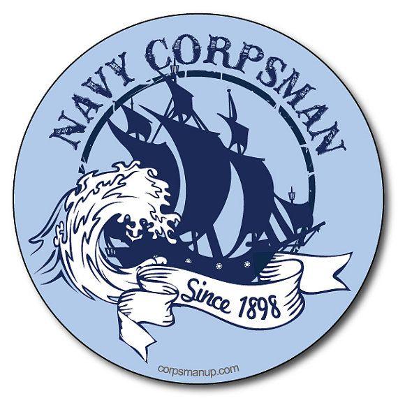 Navy Corpsman military sticker