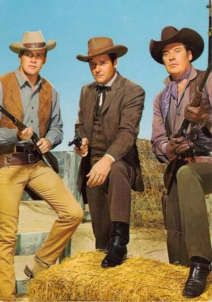 Lee Majors, Richard Long and Peter Breck <3