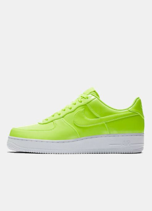 Dazzle From The Ground Up In These Neon Nike Air Force 1