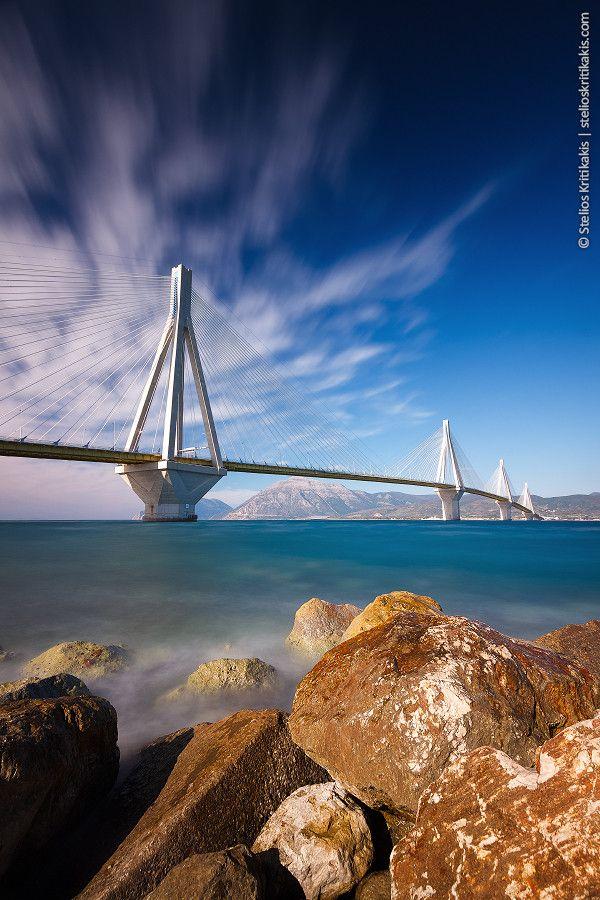 ~~Rio Antirio Bridge ~ Greece by Stelios Kritikakis~~